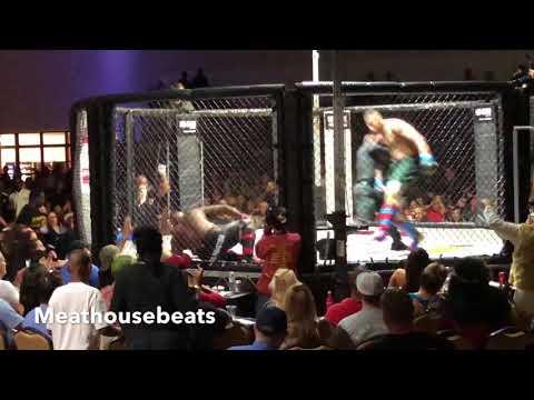 Greg Hardy first MMA Fight vs Joe Hawkins