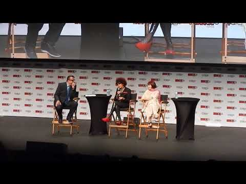 Rocky Horror Picture Show Patricia Quinn and Nell Campbell live panel at FanExpo Canada 2017