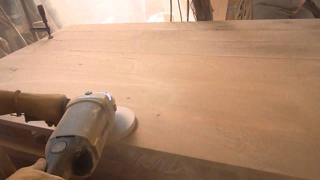 Pulido de madera youtube - Como lijar una puerta ...