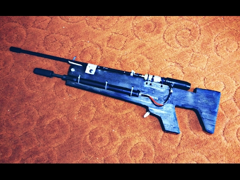 Pump Action Air Rifle -  Prototype