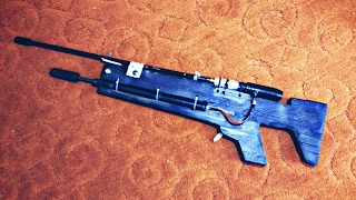 Pump Action Air Rifle -  Prototype