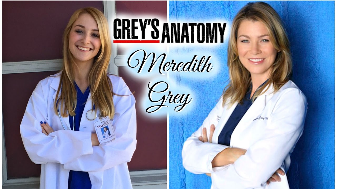 Greys Anatomy Last Minute Halloween Costume Meredith Grey Youtube