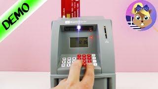 Κουμπαράς-αυτόματο μηχάνημα τράπεζας!