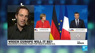 Which Europe will it be? Macron