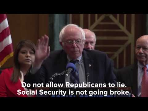 Our Plan for Social Security | Bernie...