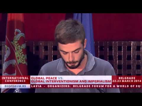 Duarte Alves (Portugal) - (Global Peace vs. Global Interventionism and Imperialism)