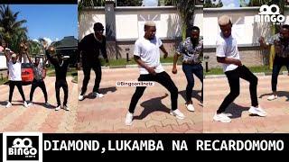 DIAMOND Dancing Challange YOPE Remix LUKAMBA Katisha Na RICARDO MOMO