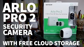 Arlo Pro 2 Wireless Security Camera Without Subscription – 1080p Security Camera with Night Vision