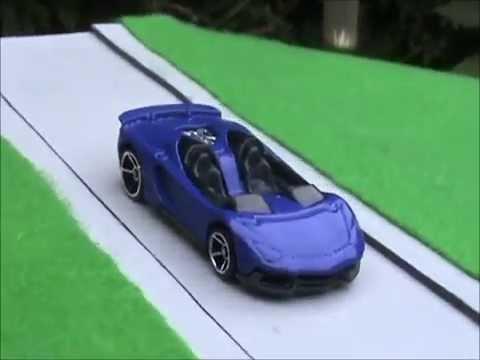 Hotwheels Lamborghini Aventador J Custom From Red To Purple Youtube