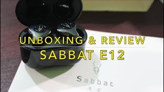 Sabbat E12 True Wireless Earbuds Unboxing and Review | Better than most expensive buds?