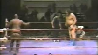 Andre the Giant vs Kamala 1/2/84 Ft Worth