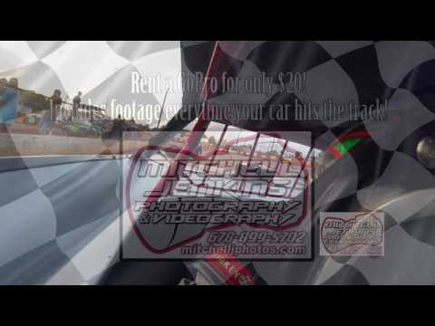Lawson Hill Super Bomber In-Car Dixie Speedway 6/10/17!
