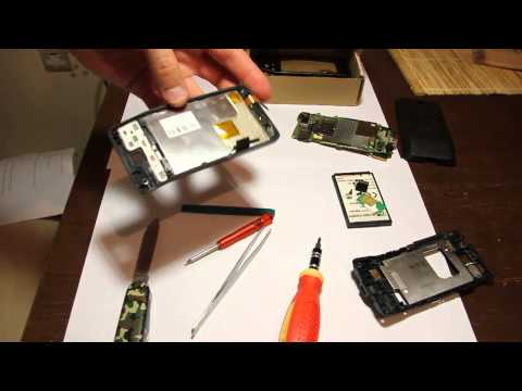 Replace HTC HERO touch screen. Part 1
