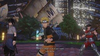 Jump Force (Closed Beta) - Naruto X Sasuke X Seiya Gameplay