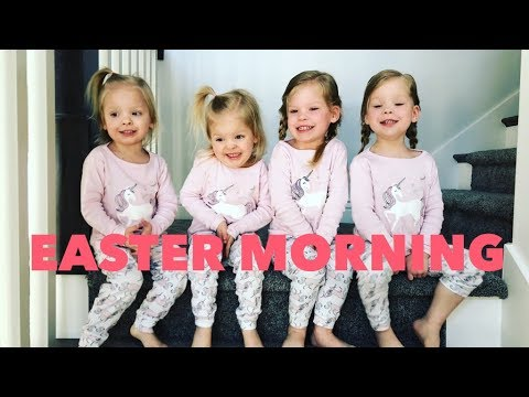 EASTER 2018 WITH QUADRUPLETS AND AN UPDATE ON MOMS HEALTH