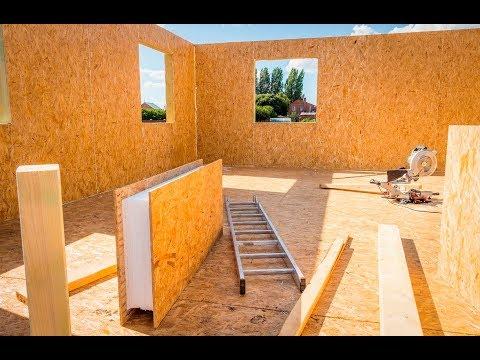 видео: Производство СИП - панелей в Челябинске | Дома из sip - панелей