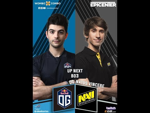 Natus Vincere Vs OG Game 1 | EPICENTER XL (BO3) | Group Stage Day 2