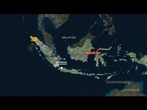 Erdbeben von 8,7 vor Sumatra