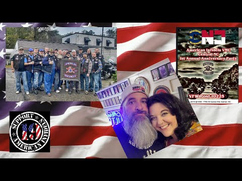 Let's Celebrate / American Infidels VMC Central North Carolina 1st Annual  Anniversary Party