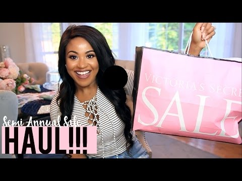 Bath & Body Works + Victoria's Secret Semi-Annual Sale HAUL 2016!