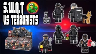 lego SWAT - Knockoff Minifigures Review by Kopf