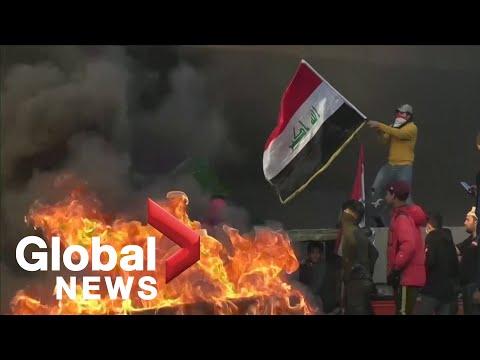 Anti-government protests continue to escalate in Iraq