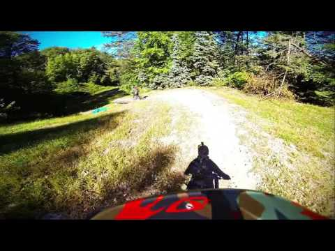 Blue Mountain Bike Park Downhill Shred Session gopro