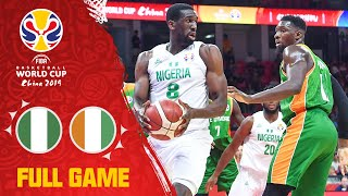 Nigeria show heart vs. Cote d'Ivoire - Full Game - FIBA Basketball World Cup 2019