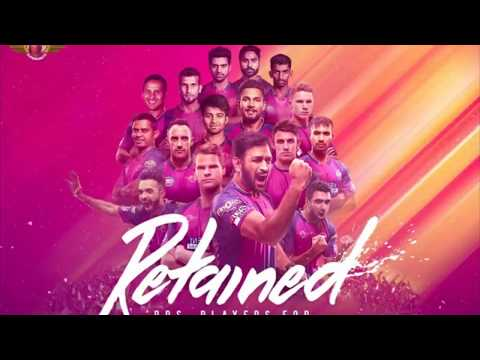 Rising Pune SuperGiants anthem song