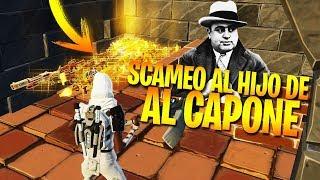 SCAMEO A LA FAMILIA DE AL CAPONE, GRITA Y ME AMENAZA DE MUERTE xD -  Scameando A Scammer