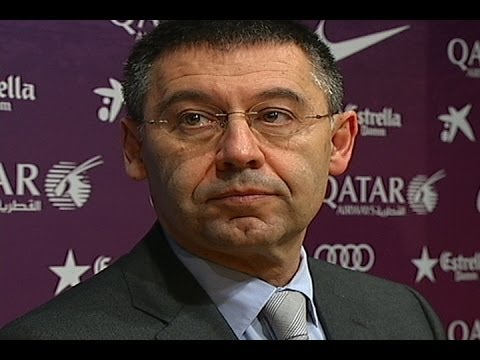 """Bartomeu: """"Alguien intenta hacer daño al Barça"""""""