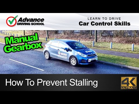 How To Prevent Stalling  |  Learn to drive: Car control skills