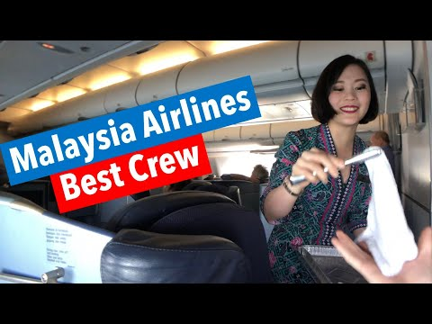 MALAYSIA Airlines MH126: A330-200 Perth to Kuala Lumpur (Business Class)