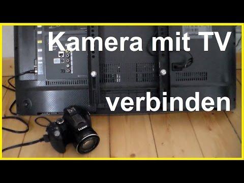 kamera-an-tv-gerät-anschließen---kamera-mit-fernseher-verbinden