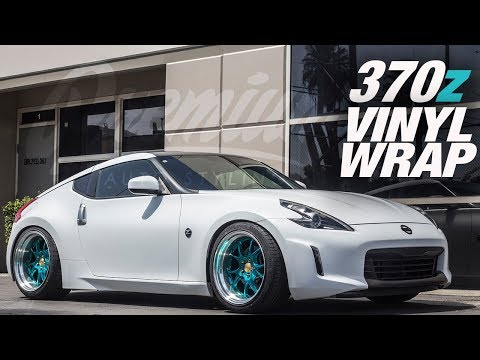 Nissan 370z WRAP Project | SHOP CAR