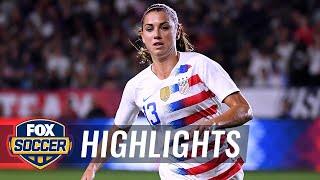 Alex Morgan makes it 5-0 with career goal No. 95 vs. Jamaica | 2018 CONCACAF Women's Championship