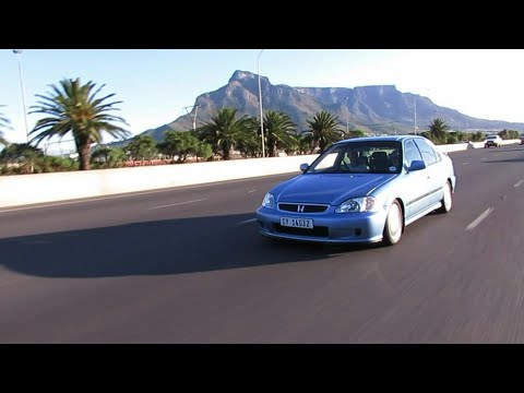 ICONS  The NEATEST Honda Ballade Vtec in Cape Town - YouTube