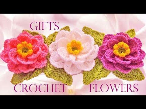 Como Tejer Flores Facil Y Rapido En Una Tira En Pocos Minutos Make