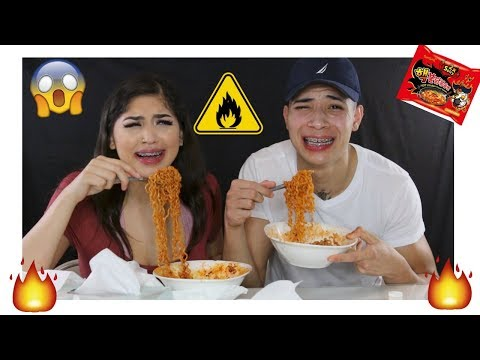 EXTREME 2X SPICY NUCLEAR RAMEN CHALLENGE!!! (EXTREMELY SPICY)