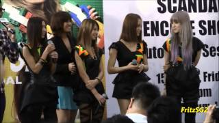 SCANDAL (JPop) Live In Singapore 2013 - Autograph Session