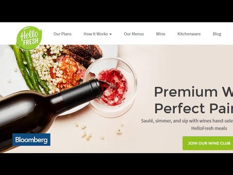 Meal-Kit Startup HelloFresh Targets $1.8B IPO Valuation