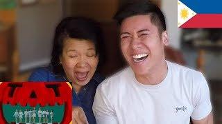 "Showing My Filipino Mom ""TT"" By TWICE🇵🇭"