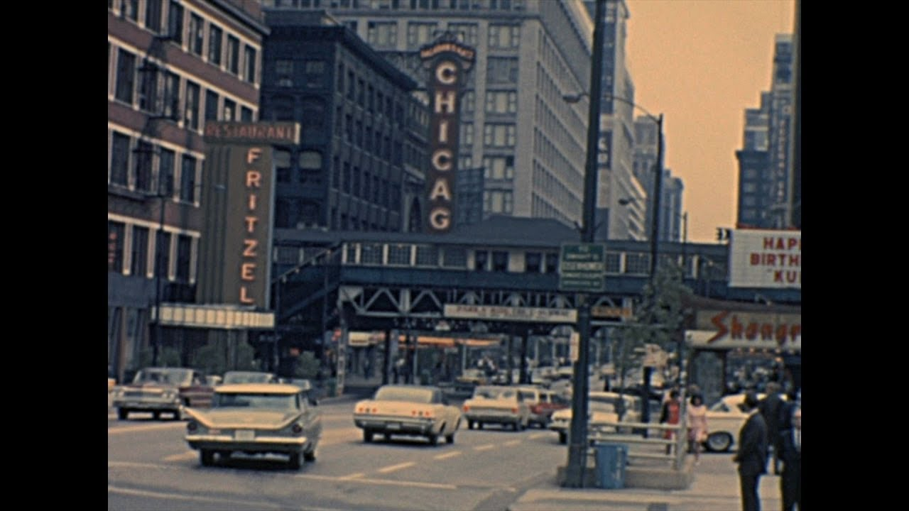 Archive Footage Chicago 1965