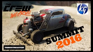 The Crew Wild Run ps4 gameplay SUMMIT 2016/First experience with the Thrustmaster T300RS