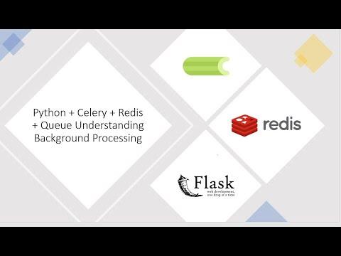Python + Celery + Redis + Queue Understanding Background Processing