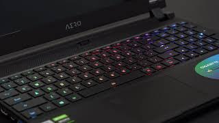 GIGABYTE AERO 15 OLED YB i9 RGB LED