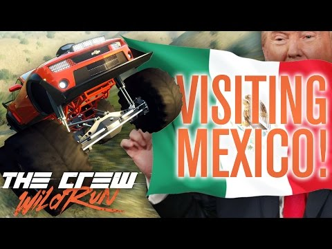VISITING MEXICO?!   The Crew Wild Run Gameplay w/ The Nobeds