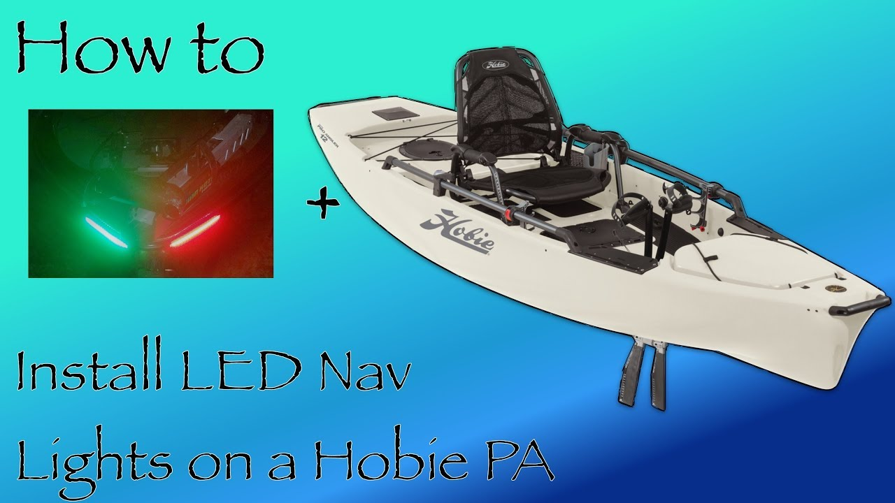 Hobie PA LED Navigation Lights Install - YouTube on wiring home lights, wiring tools, wiring led lights, wiring security lights, wiring lights in parallel, wiring electrical, wiring solar panels,