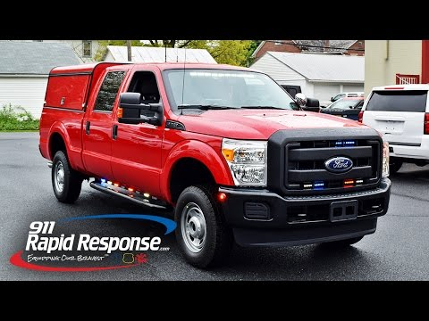 Unmarked Fire Marshall F-250 | 911RR
