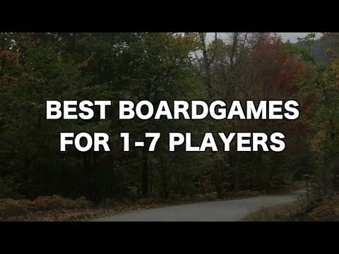 Best Boardgames For 1-7 Players